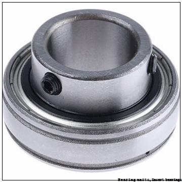 75 mm x 130 mm x 77.8 mm  SNR UC.215.G2 Bearing units,Insert bearings