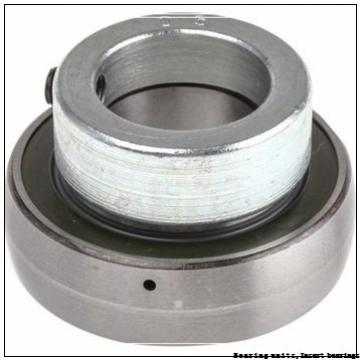 60.32 mm x 110 mm x 65.1 mm  SNR UC.212-38.G2 Bearing units,Insert bearings