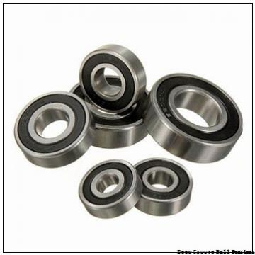 6 mm x 15 mm x 5 mm  skf W 619/6 R-2Z Deep groove ball bearings