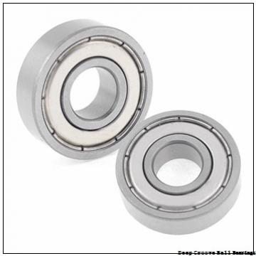 90 mm x 190 mm x 43 mm  skf 6318-2RS1 Deep groove ball bearings