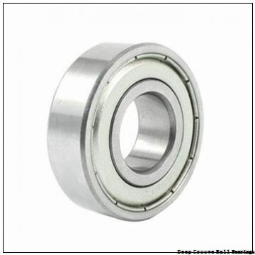 19.05 mm x 41.275 mm x 11.113 mm  skf D/W R12-2RZ Deep groove ball bearings