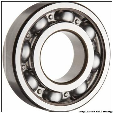 45 mm x 58 mm x 7 mm  skf W 61809 R Deep groove ball bearings