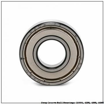 timken 6007-Z-C3 Deep Groove Ball Bearings (6000, 6200, 6300, 6400)