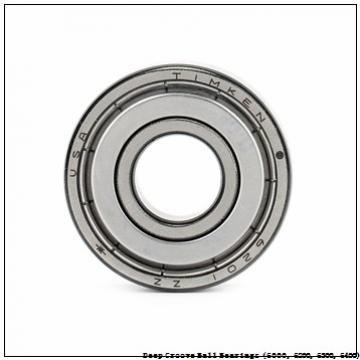timken 6000-2RZ-NR-C3 Deep Groove Ball Bearings (6000, 6200, 6300, 6400)