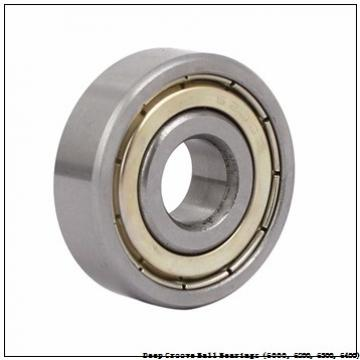 85 mm x 150 mm x 28 mm  timken 6217-2RS-C3 Deep Groove Ball Bearings (6000, 6200, 6300, 6400)