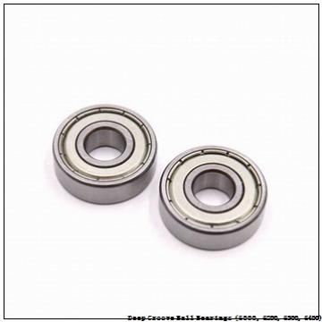 timken 6000-ZZ-NR Deep Groove Ball Bearings (6000, 6200, 6300, 6400)