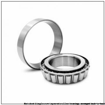 skf 32317T132/DB Matched Single row tapered roller bearings arranged back-to-back