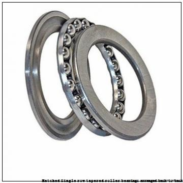 skf 32017T66 X/DB Matched Single row tapered roller bearings arranged back-to-back
